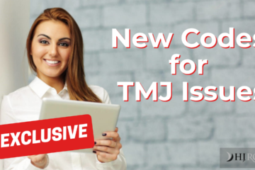 New Codes for TMJ Issues