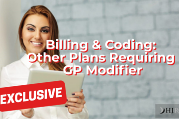 Other Plans Requiring GP Modifier